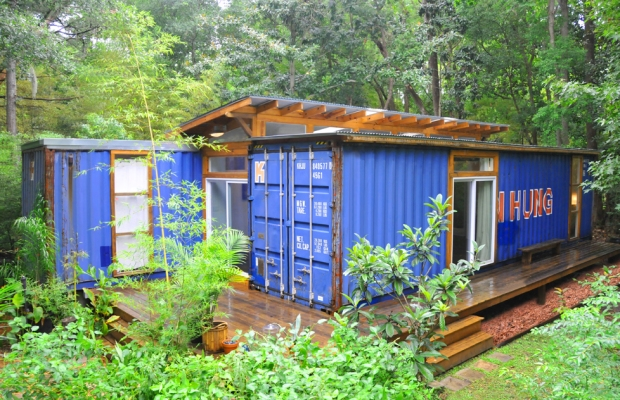 2 Shipping Container Home, - Savannah Project, Price Street Projects, - Florida,  (3)