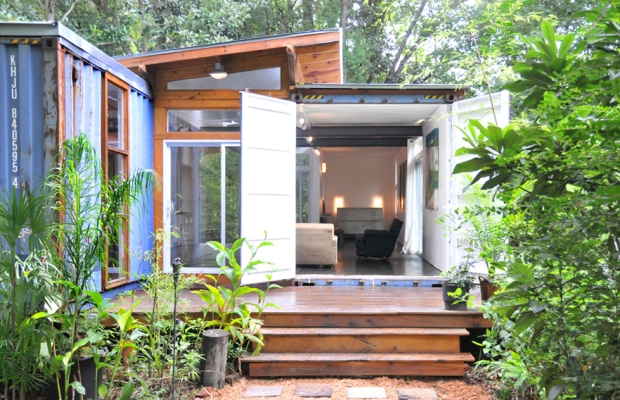 2 Shipping Container Home, - Savannah Project, Price Street Projects, - Florida,  (5)