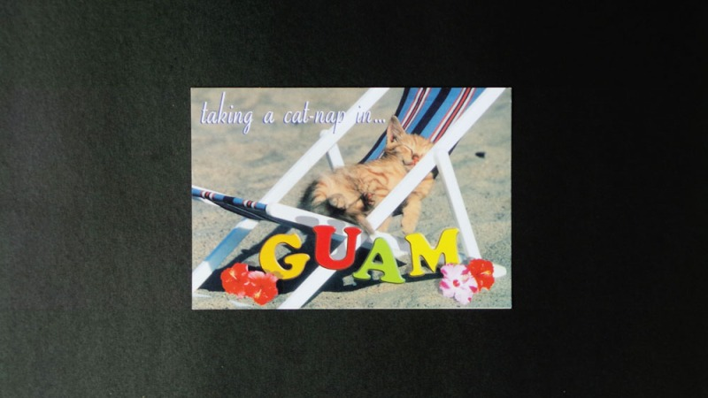 Guam postcards (2)